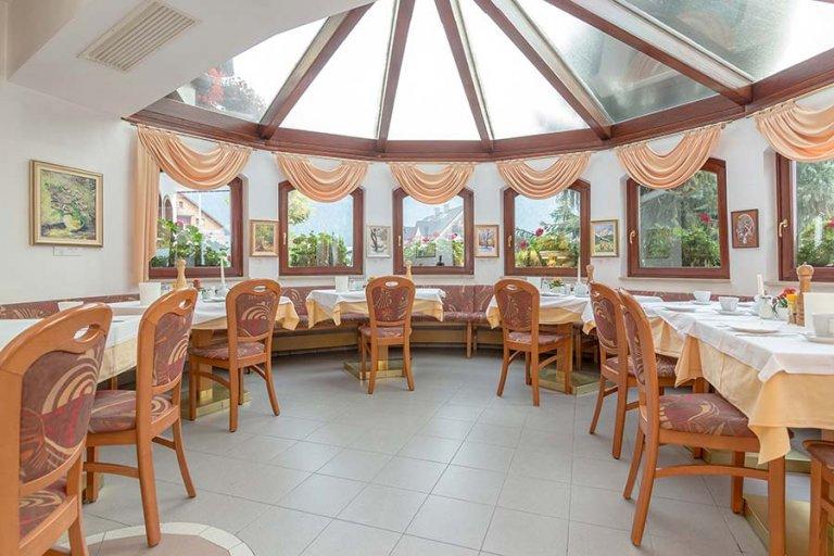 Restavracija Miklič okenski pogled