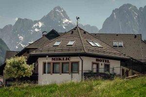 Garni hotel Miklic and mountains